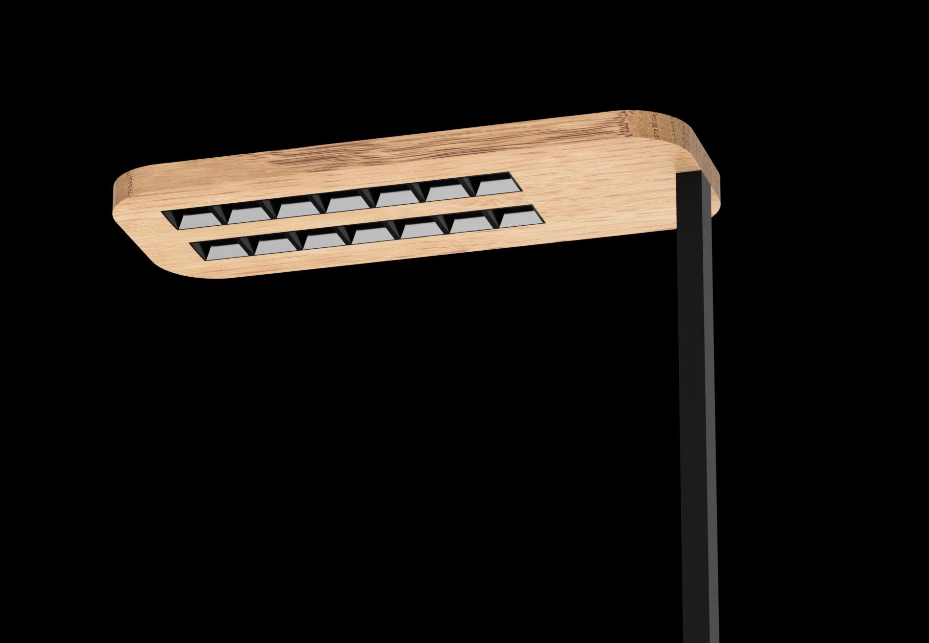 Wood Freestanding - Wood LED Wood